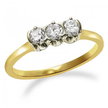 DIAMOND TRINITY RING RIN0016
