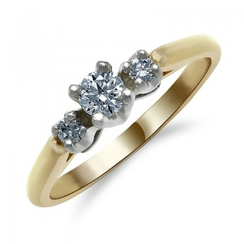 DIAMOND ENGAGEMENT RING RIN0009