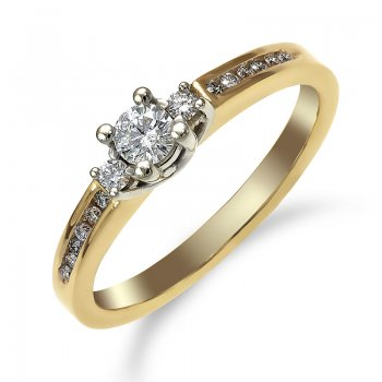 DIAMOND ENGAGEMENT RING RIN0001
