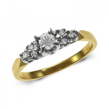 DIAMOND ENGAGEMENT RING RIN0014