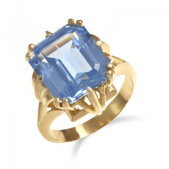 BLUE TOPAZ RING RIN0007