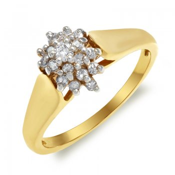 DIAMOND CLUSTER RING RIN0006