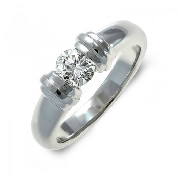 BRILLIANT-CUT DIAMOND ENGAGEMENT RING RIN0053