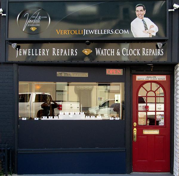 Vertolli Jewellers Storefront